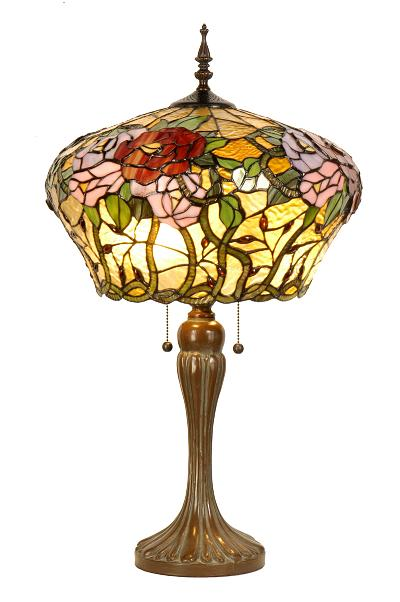 how to tell a real tiffany lamp